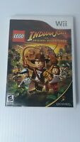 LEGO Indiana Jones:The Original Adventures Complete / Nintendo Wii *Tested*