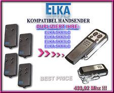 ELKA SKX1LC / Elka SKX2LC / SKX4LC kompatibel handsender, 433,92Mhz KLONE Ersatz