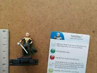 Nr 011 FANDRAL     /MINIATURE+ CARD / MARVEL HEROCLIX