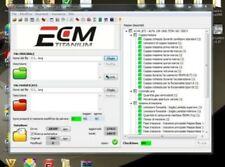 ECM TITANIUM 1.61 , WINOLS 2.24, inclue tutoriel installation et fichier damos