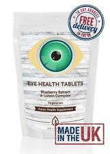 Eyehealth Vitaminas Minerales Arándano Luteína COMPRIMIDOS NUTRICIÓN suplementos