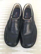 Merrell World Legend Stollen Black Loafers Mens Sz 10 Ortholite Slip On Shoes
