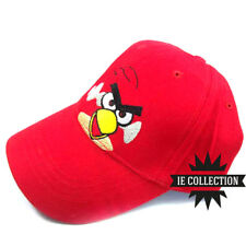 ANGRY BIRDS CAPPELLO RED uccello rosso hat plush hut cosplay cappellino cap film