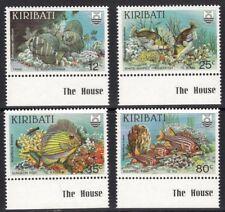 KIRIBATI SG232w/5w 1985 REEF FISH WMK INVERTED MNH