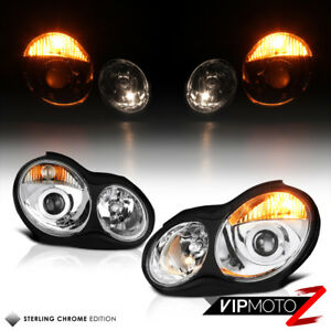 For 01-07 Mercedes Benz W203 C320 C32 AMG C230 [Facelift] Projector Headlight