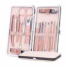 Maniküre Set, FAPPEN Pediküre Kit, 15-teiliges Nagel Schere Nagelpflege