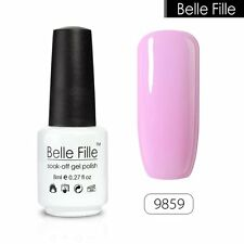 79 Candy Colors UV Gel Nail Polish Soak off Gel Varnish Nail Art BELLE FILLE 8ml