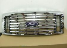 Ford F150 Chrome Billet Style Grill Grille New OEM Part AL3Z 8200 C