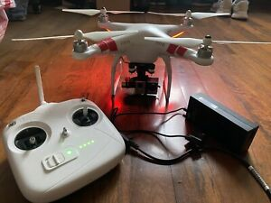 DRONE DJI PHANTOM 2 ZENMUSE H3-3D EDITION WORKS WITH THE GOPRO HERO 3 CAMERA