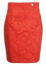 VERSACE COLLECTION donna arancione in rilievo con motivi GON NA * IT 46 / UK 14 * BNWT
