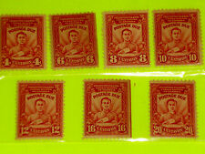 PHILIPPINES STAMP POSTAGE DUE  US ADM 1928 COMPLETE SET 7 VALUES * J8-14 MINT ^^