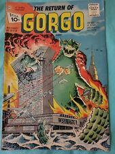 Gorgo #2 The Return of Gorgo 1961 VG