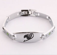 DZ630 Anime Fairy Tail Mark Inlaid Alloy Bracelet Hand Chains Cosplay Costume ^