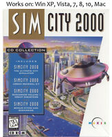 SimCity 2000 Special Edition PC Mac Game Windows XP Vista 7 8 10 Sim City