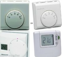 TEAMS OR HONEYWELL MECHANICAL OR DIGITAL ROOM THERMOSTAT CENTRAL HEATING STATS