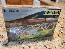 New ! Z scale Faller Deck Arch Bridge Building Kit # 282915 Sealed