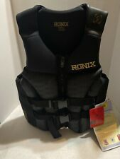 Ronix Wakeboard Covert Front Zip Vest Personal Flotation Device Size Adult Small