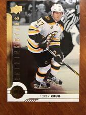 2017-18 UD Hockey Series 1 Shining Stars SSD-9 Torey Krug