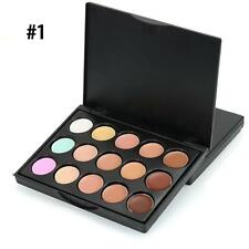 MIni 15 Colors Face Concealer Camouflage Cream Powder Contour Palette Kit Hot