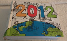 "Class Of 2012 Photo Album Nyc Seattle Paris Traveling 6.5""x8"" New"