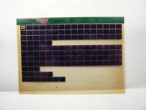 Honda  VT 500 E  Teile Katalog auf Microfich  Liste Fich Parts Catalogue 1986