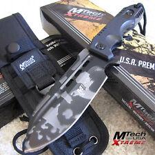 "Mtech Xtreme Urban Blast - 9"" Fixed Blade Combat Fighting Knife w/Molle Sheath"
