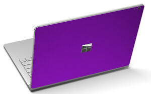 "LidStyles Metallic Laptop Skin Protector Decal Microsoft Surface Book 2 13"""