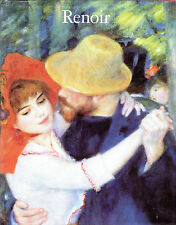 RENOIR - SOUVENIR HARDBACK PUBLISHED AT TIME OF THE 1985 TOURING EXHIBITION