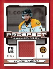 2013-14 ITG DRAFT PROSPECTS #PGU-318/45 ANTHONY DEANGELO REAL ROOKIE RANGERS