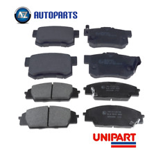For Honda - Civic R Type EP3 2001-2006 Front & Rear Brake Pads Set Unipart