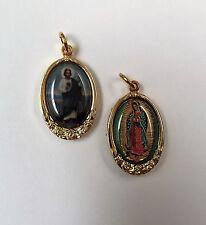St. Jude Our Lady of Guadalupe Medal/Medalla San Judas y Virgen de Guadalu 17015