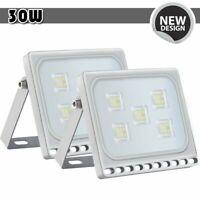 30W Watt LED Flood Light Bright White Outdoor Garden Security Spotlight 110V