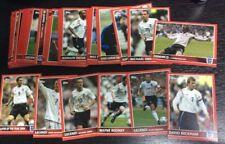 2005 Topps England Team 1-100 Card Set Lampard Rooney Beckham Gerrard World Cup