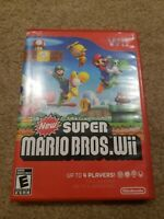 New Super Mario Bros. Wii (Nintendo Wii) Complete Tested With Inserts