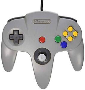 Nintendo 64 OEM Controller Original Grey For N64 Remote Gray Very Good 5Z