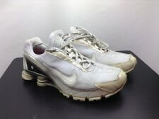 Used Mens Nike Shox size 9.5 running white
