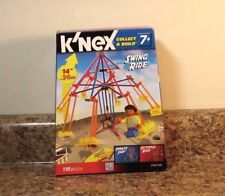 """K'Nex Swing Ride 14"""" Building Set Carnival 2011 Collect & Build New"""