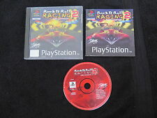 PS1 : ROCK & ROLL RACING 2 : RED ASPHALT - Completo ! Compatibile PS2 e PS3