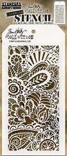 Tim Holtz Layering Stencil DOODLE Art 1 THS141