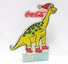 Coca-Cola -DINOSAURO-PINS-BON APPETIT Ihr Restaurant - attacco bottone a innesto