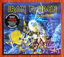 IRON MAIDEN - LIVE AFTER DEATH 2CD+Figurine+Patch Ltd Collector's Box Set SEALED