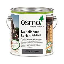 Osmo Landhausfarbe HS 2704 Steingrau 2,5L Außenfarbe Außen