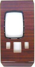 revêtement en bois console de commande centrale convient Mercedes W107 zebrano