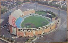 1960s Chrome Postcard: Memorial Baseball Stadium - Baltimore, Maryland Md