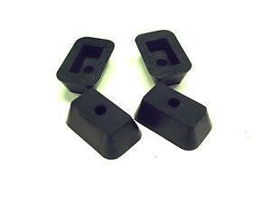 Replacement Rubber Feet for Vintage Remington 5 Portable Typewriter (set of 4)