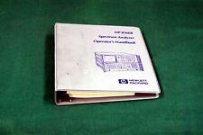 HP 8566B OPERATOR MANUAL