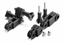 Pivot bras parallèles Mount F. gopro go pro HD HERO 1,2,3 articulation Accessoires support