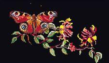 THEA GOUVERNEUR  439.05  Butterfly  Honeysuckle  Point de Croix  Compté  Aïda
