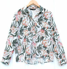 Zara Long Sleeve Floral Tops & Blouses for Women