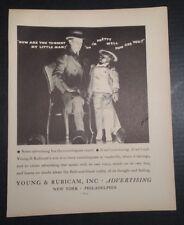 1931 Young & Rubicam Inc ADVERTISING Advertisement New York & Philadelphia